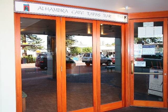 Alhambra Cafe Tapas Bar Manly Sydney