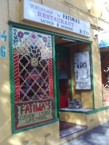 Fatimas Lebanese Restaurant Surry Hills