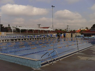 Granville Olympic swimming pool