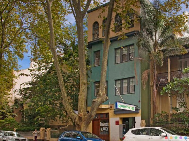 Highfield Private Hotel budget Hotel Kings Cross Sydney