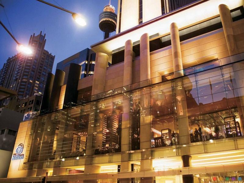 Hilton Sydney Hotel George St Cbd