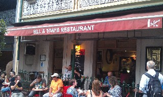 Bill and Toni's Italian Restaurant Sydney