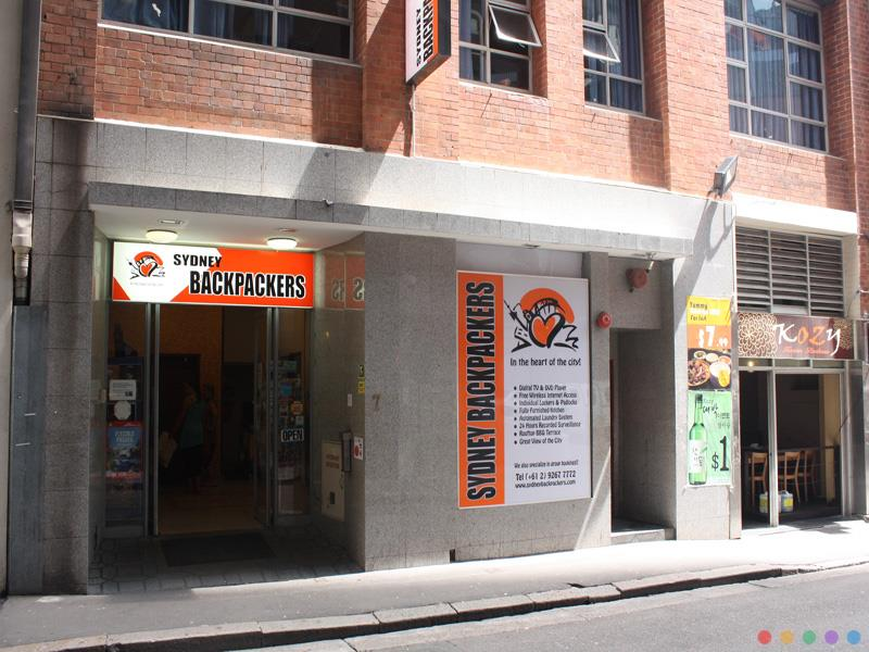 Sydney Backpackers Hotel close to Town Hall Sydney