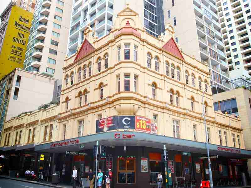 Sydney Central Inn budget Hotel close to Chinatown Sydney