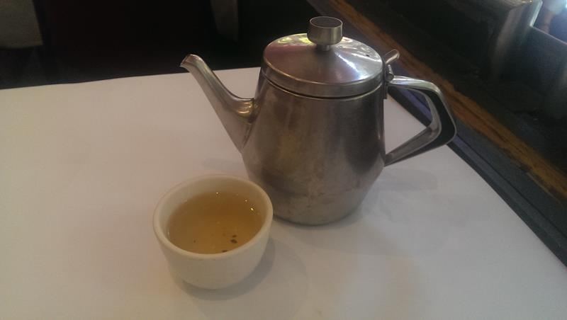 Chinese tea at New Tai Yuen Chinese Restaurant Sydney Chinatown