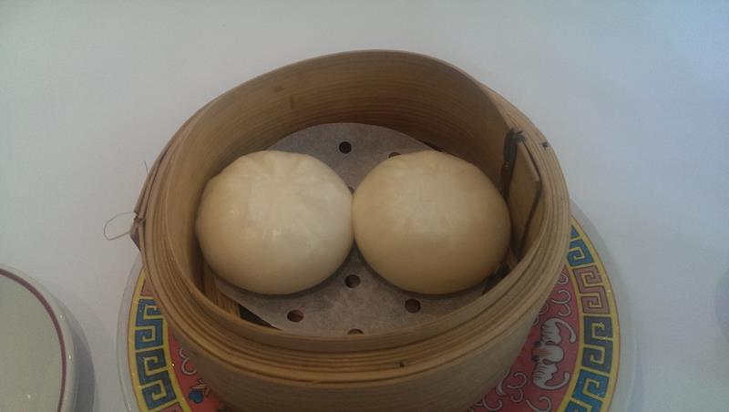 Steamed BBQ pork buns yum cha at New Tai Yuen Chinese Restaurant Sydney Chinatown