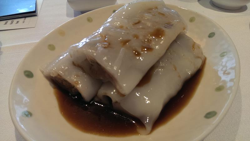 Rice noodles with beef at Pier Nine Chinese Seafood Restaurant Sydney
