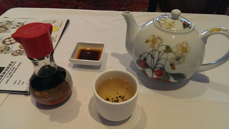 Chinese tea at Pier Nine Chinese Seafood Restaurant King Street Wharf Sydney