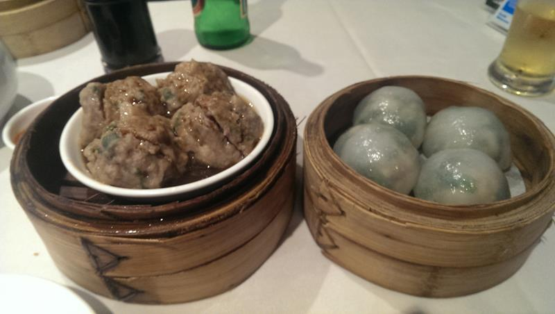 Yum cha dishes at The Eight Modern Chinese Restaurant Sydney Chinatown