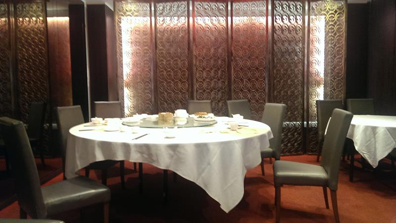 Private dinning area at The Eight Modern Chinese Restaurant Sydney