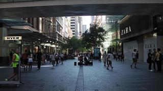 Pitt Street Mall Sydney Shopping Mall