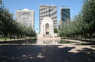 ANZAC War Memorial Sydney Hyde Park