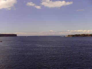 The heads of Sydney Harbour